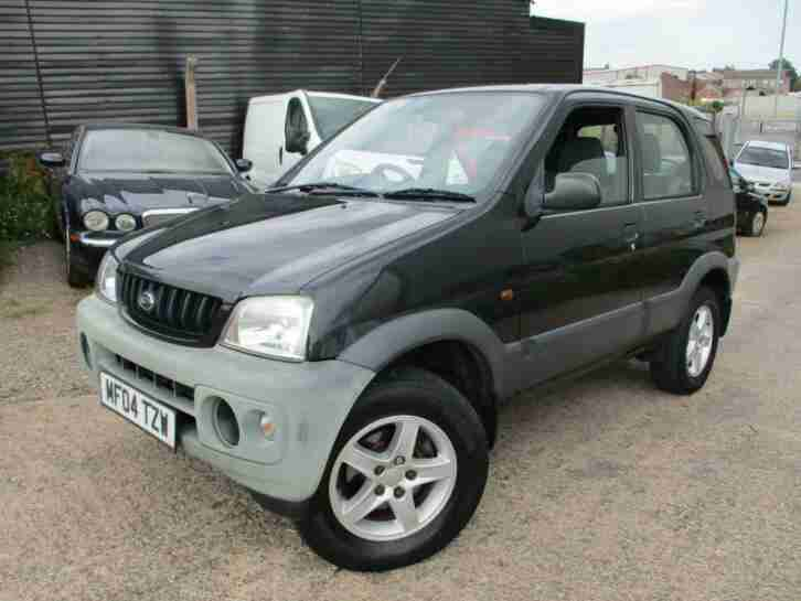 Daihatsu TERIOS TRACKER. Daihatsu car from United Kingdom