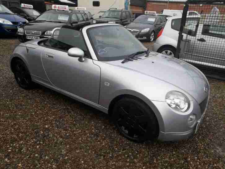 DEPOSIT NOW TAKEN 2006 DAIHATSU COPEN CONVERTABLE WITH GOOD HISTORY