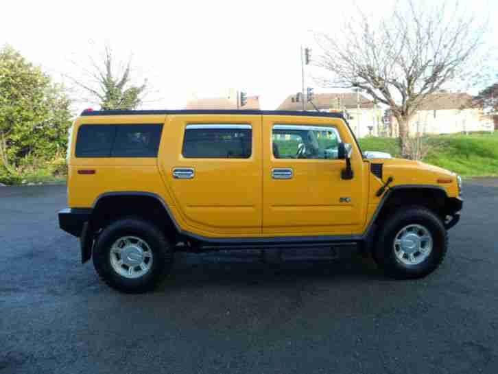 ** DEPOSIT RECEIVED ** HUMMER H2 FRESH IMPORT IN YELLOW IMMACULATE CONDITION