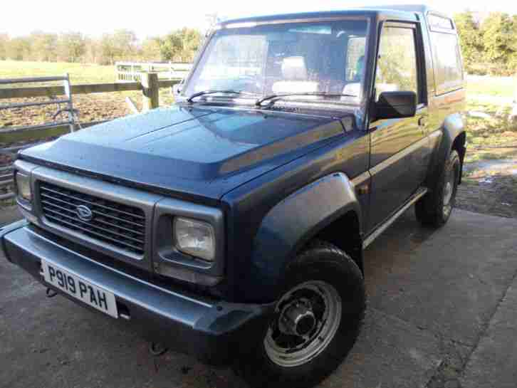 DIAHATSU FOURTRAK FIELDMAN SPARES REPAIR