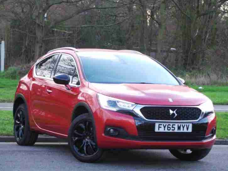 DS DS4 1.6 BLUEHDI DSTYLE NAV 5DR DEMO ORANGE
