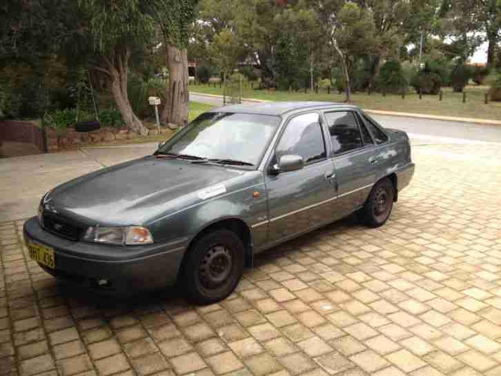 Daewoo Cielo GLX (1997) 4D Sedan 5 SP Manual (1.5L Multi Point F