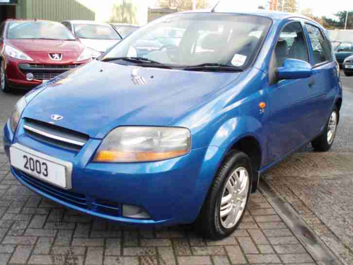 Daewoo Kalos 1.4. Daewoo car from United Kingdom
