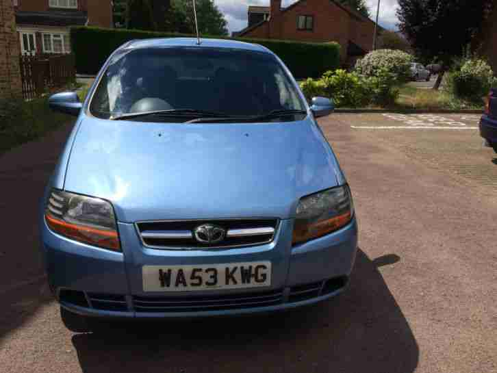 Daewoo Kalos 1.4L Petrol with long MOT & Cheap Rd Tax
