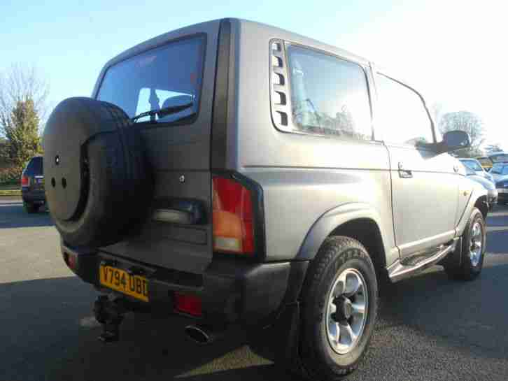 Daewoo Korando 2.3L 138bhp 3 Door Manual 4X4 Estate 1999/V Matt Grey/Grey Cloth