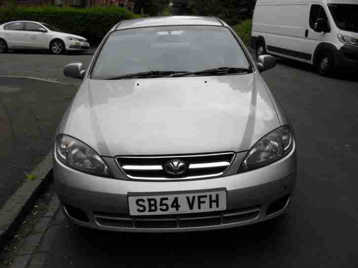Daewoo Lacetti 1.6 SX 2004 with fairly low mileage
