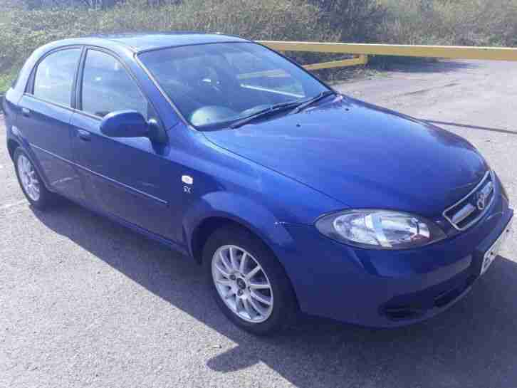 Daewoo Lacetti 1.6 SX, low miles service history, mot until 2019