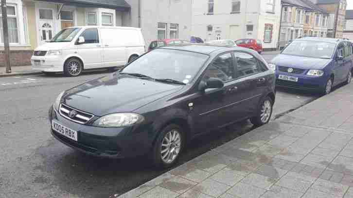 Daewoo Lacetti. Daewoo car from United Kingdom