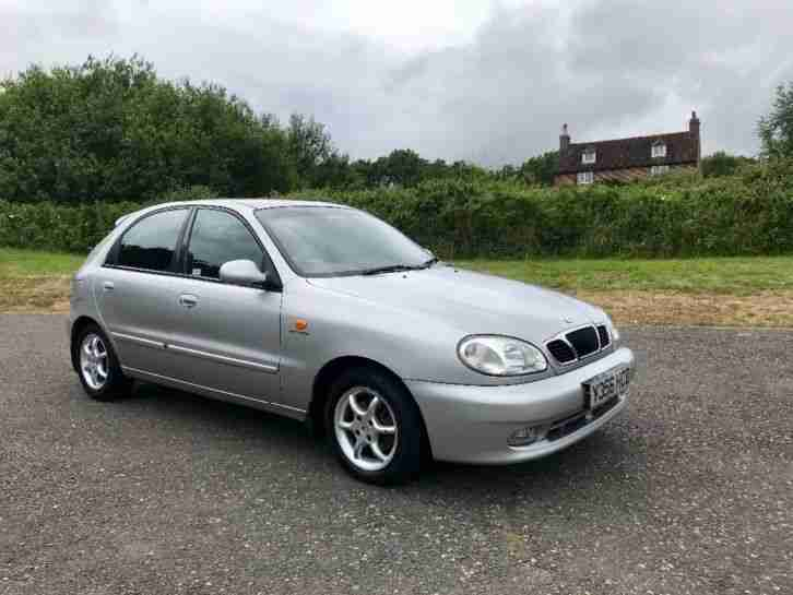 Daewoo Lanos 1.6. Daewoo car from United Kingdom