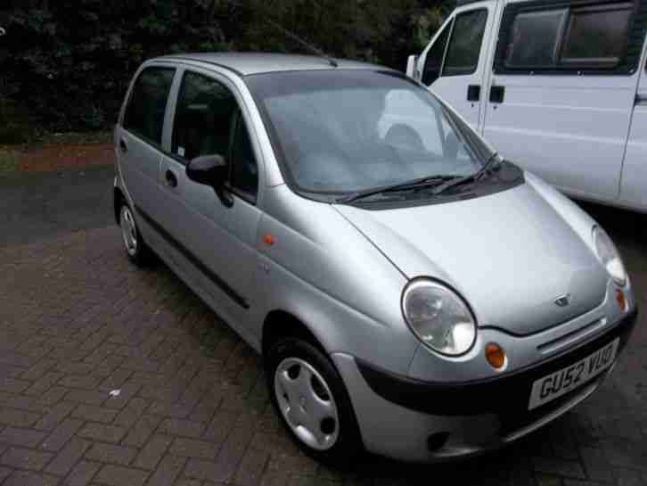Matiz 0.8 SE 2002 Low Mileage MOT