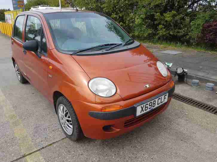 Matiz 0.8 SE, 32k From New, Mot'd,