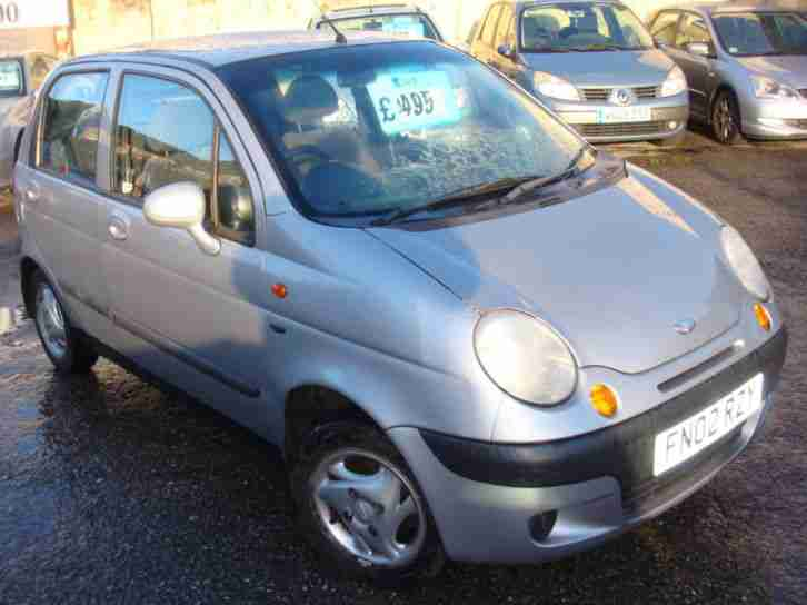 Daewoo Matiz 0.8. Daewoo car from United Kingdom