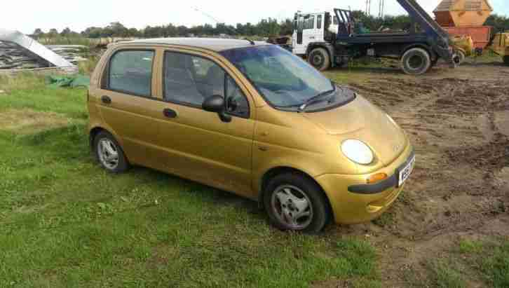 Daewoo Matiz 0.8L Needs TLC