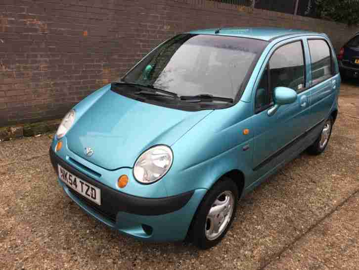 Daewoo Matiz 1.0. Daewoo car from United Kingdom