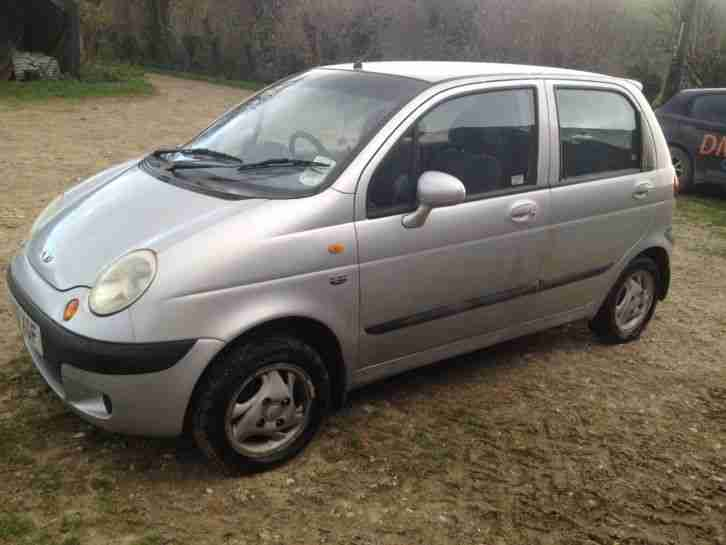 daewoo matiz 2001 67500 miles car for sale. Black Bedroom Furniture Sets. Home Design Ideas