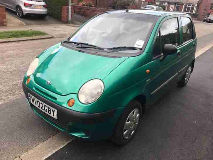 Daewoo Matiz 2002. Daewoo car from United Kingdom