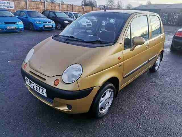 Daewoo Matiz 2002 LONG MOT + LOW MILES