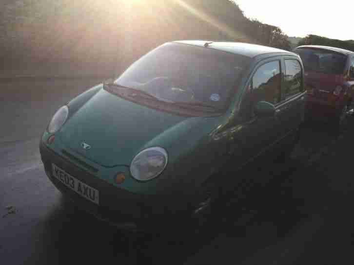 Daewoo Matiz 2003 Car Metallic Green
