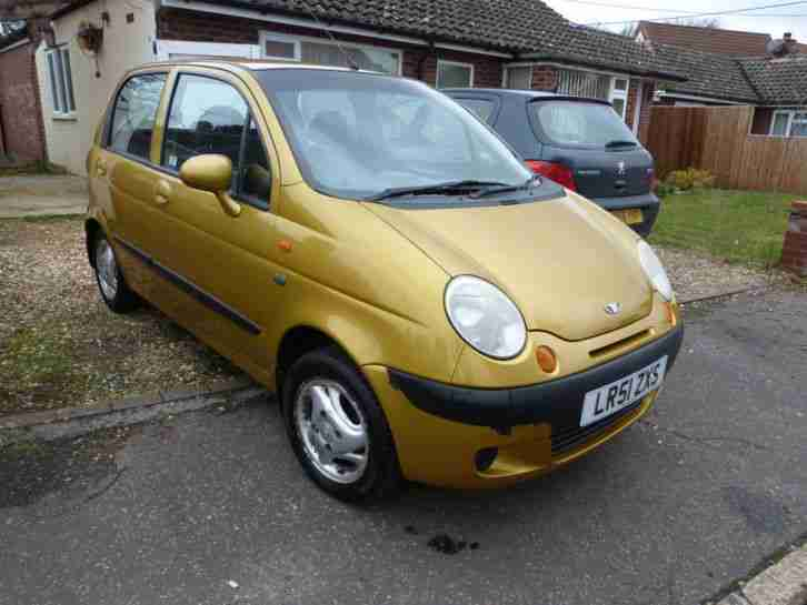 Daewoo Matiz 5 door high Mpg. car for sale