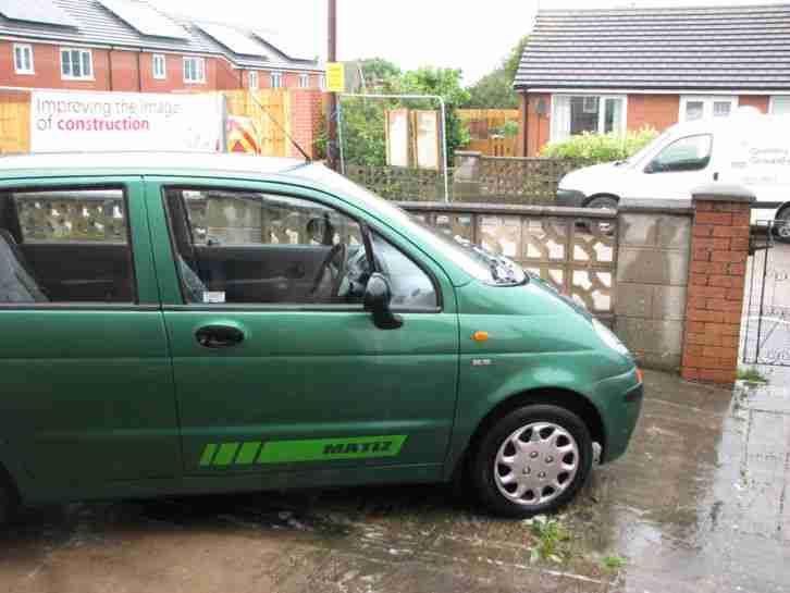 Daewoo Matiz 796cc Spares Or Repair Car For Sale
