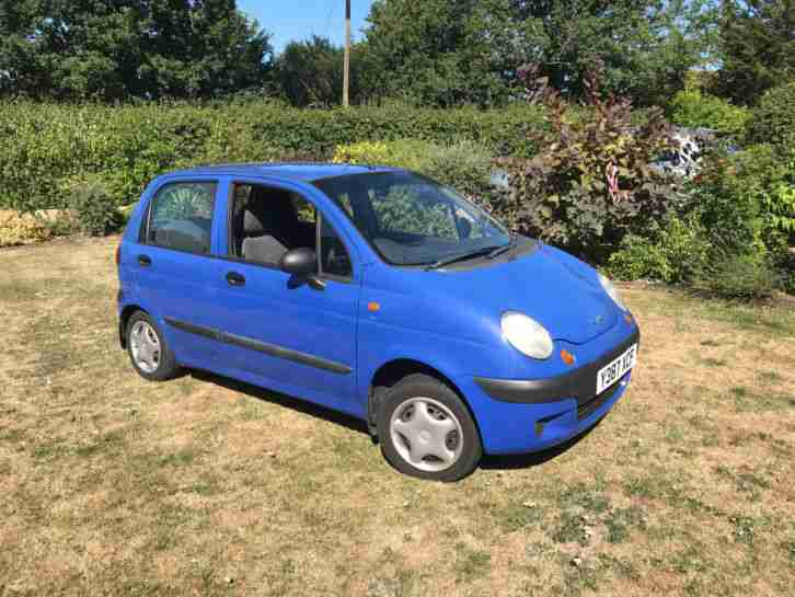 Matiz Blue 2001 51,000 FSH No MOT