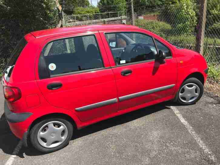 Matiz SE 5dr PETROL MANUAL 2001 51