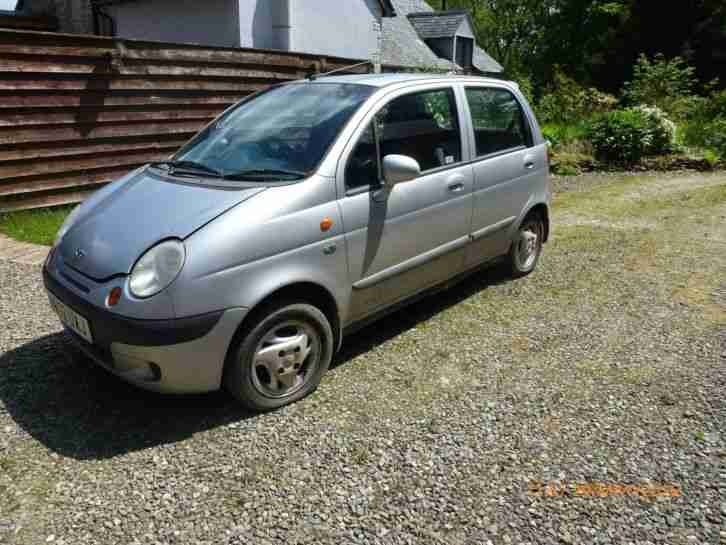 daewoo matiz se plus spares or repair car for sale. Black Bedroom Furniture Sets. Home Design Ideas