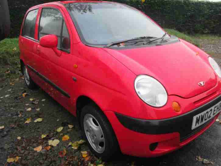 Matiz SE Plus 5dr Red, 67000 Miles,