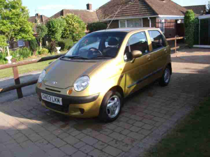 Daewoo Matiz SE Plus, 800cc, 2003, 5 door, manual. car for sale