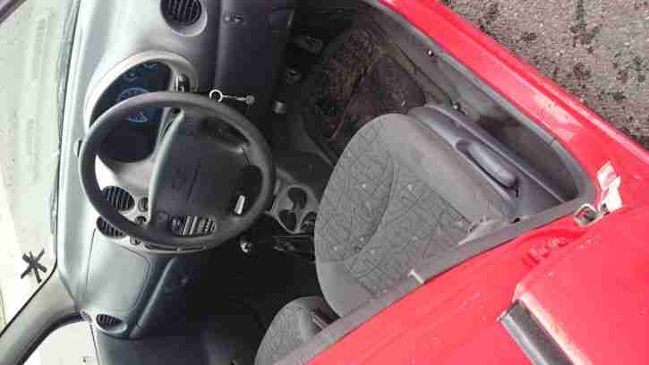 Daewoo Matiz SE Plus with Tax and MOT 800cc Red