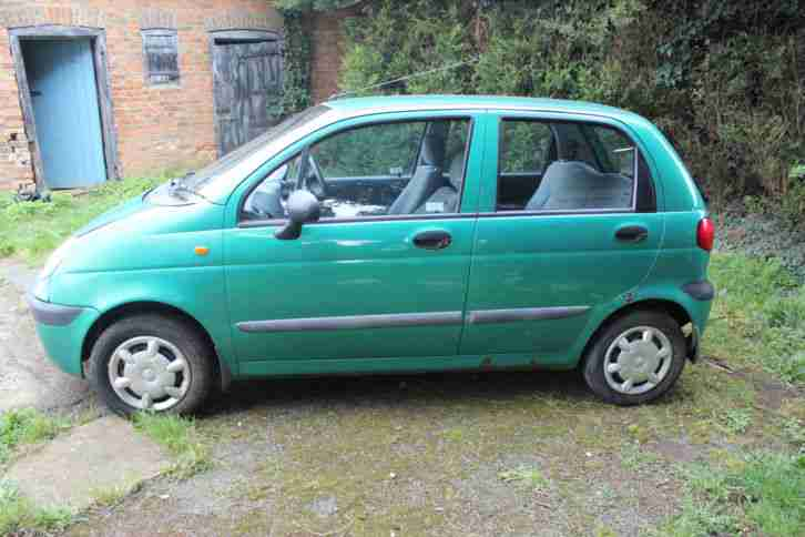 Daewoo Matiz SE for parts or repair