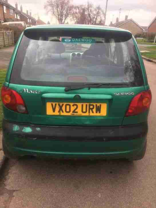 Daewoo Matiz. Daewoo car from United Kingdom
