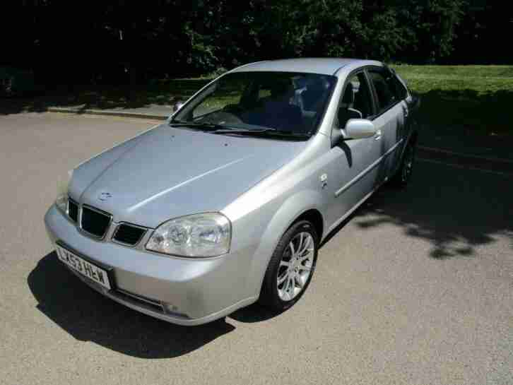 Nubira CDX PETROL MANUAL 2003 53