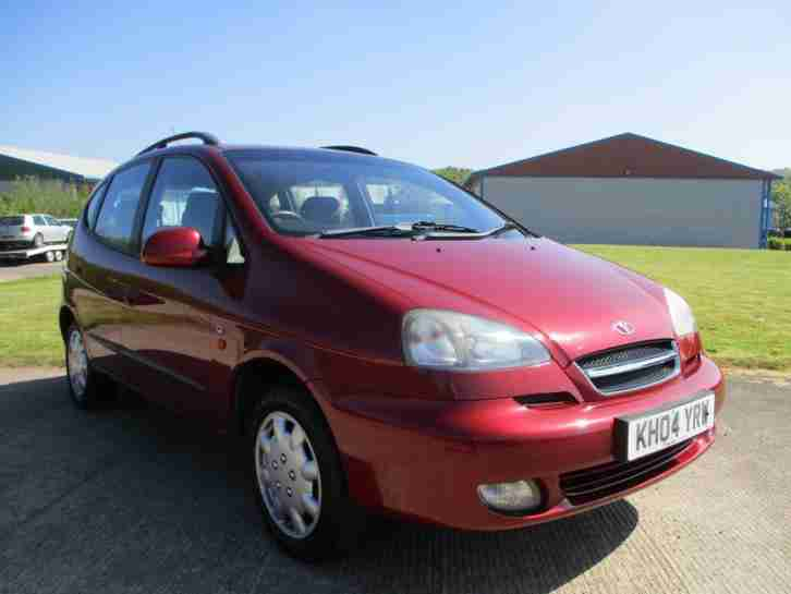 Daewoo Tacuma 1.6. Daewoo car from United Kingdom