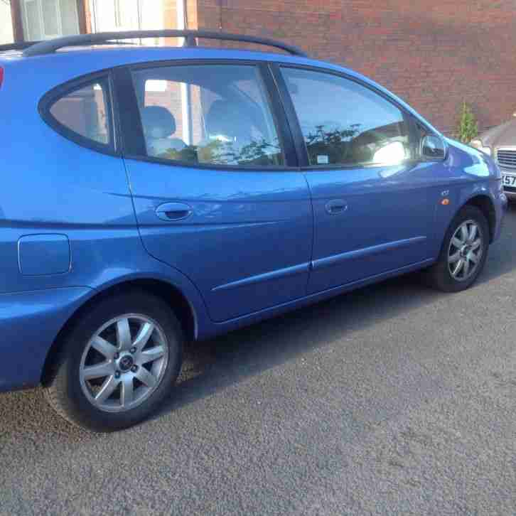 Daewoo Tacuma 2004 Blue (Give Away)