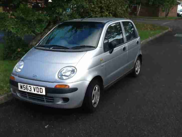 Daewoo matiz, excellent, good runner