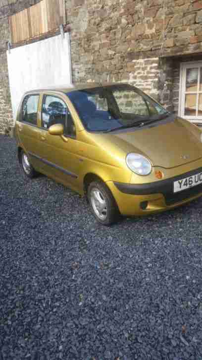Daewoo Matiz se. Daewoo car from United Kingdom