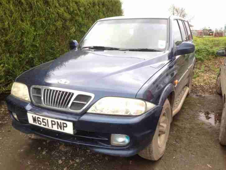 Daewoo musso low mileage