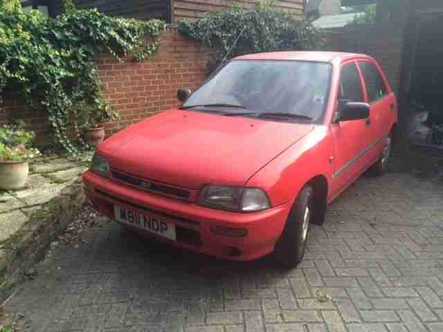 Daihatsu Charade 1.3GLXi- s/a Toyota Starlet, one owner, MOT, auto, electrics