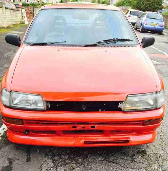 Daihatsu Charade GTTI Turbo Rare Unfinished Project NO