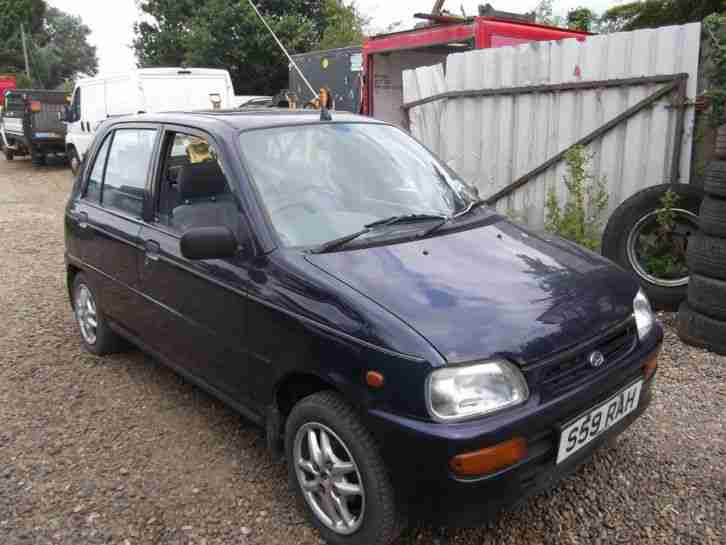 Daihatsu Cuore 5 Dr 1998 Blue Breaking For Spares Good