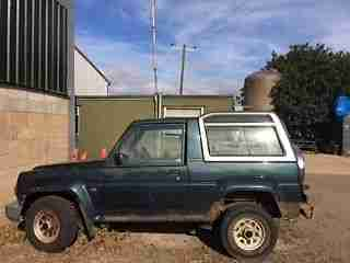 Daihatsu Fourtrak 2.8TD Independent TDX For Spares or Repair