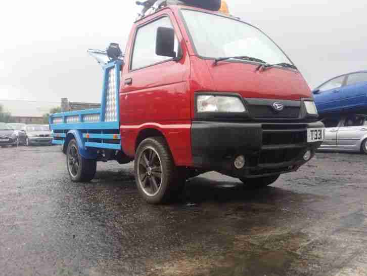 Hijet Custom flat bed