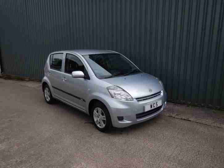 Daihatsu Sirion 1.0. Daihatsu car from United Kingdom