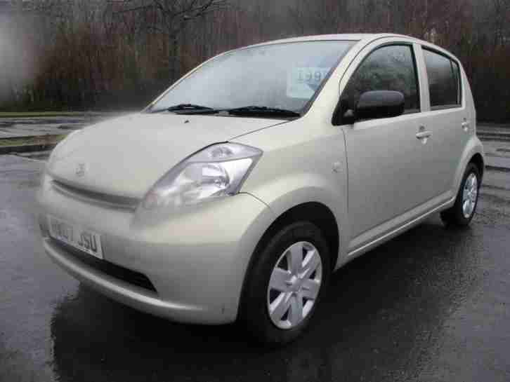 Sirion S 5dr PETROL MANUAL 2007 07