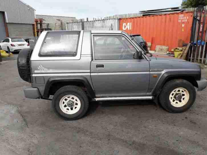 Daihatsu Sportrak 1 6elxi 1991 Spares Or Repair Car For Sale border=