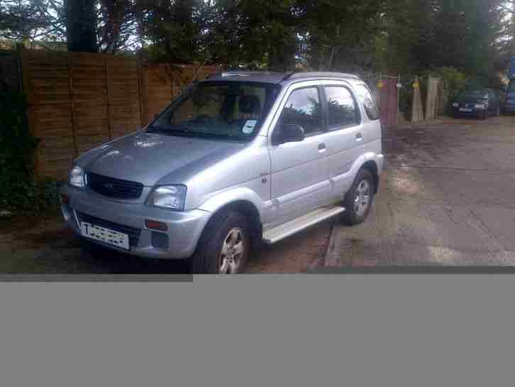 Daihatsu Terios 1.3 4x4 Spares Or Repair Export