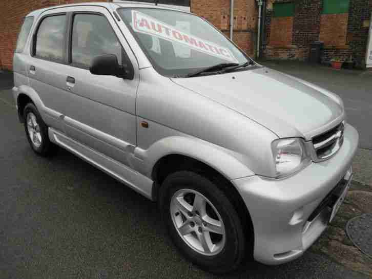 Daihatsu Terios 1.3. Daihatsu car from United Kingdom