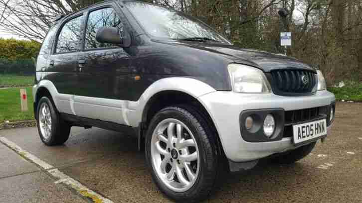 Terios 1.3 petrol manual 4x4 New Mot