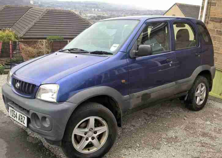 Terios Tracker 1.3 Low mileage 4 x 4